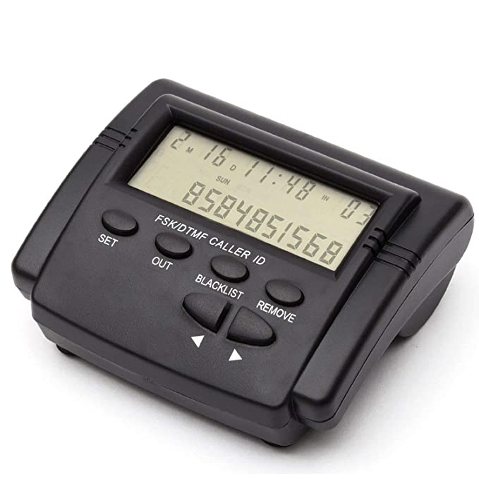 Bloqueador de llamadas de teléfono fijo telpal para teléfonos fijos con identificador de llamadas pantalla,