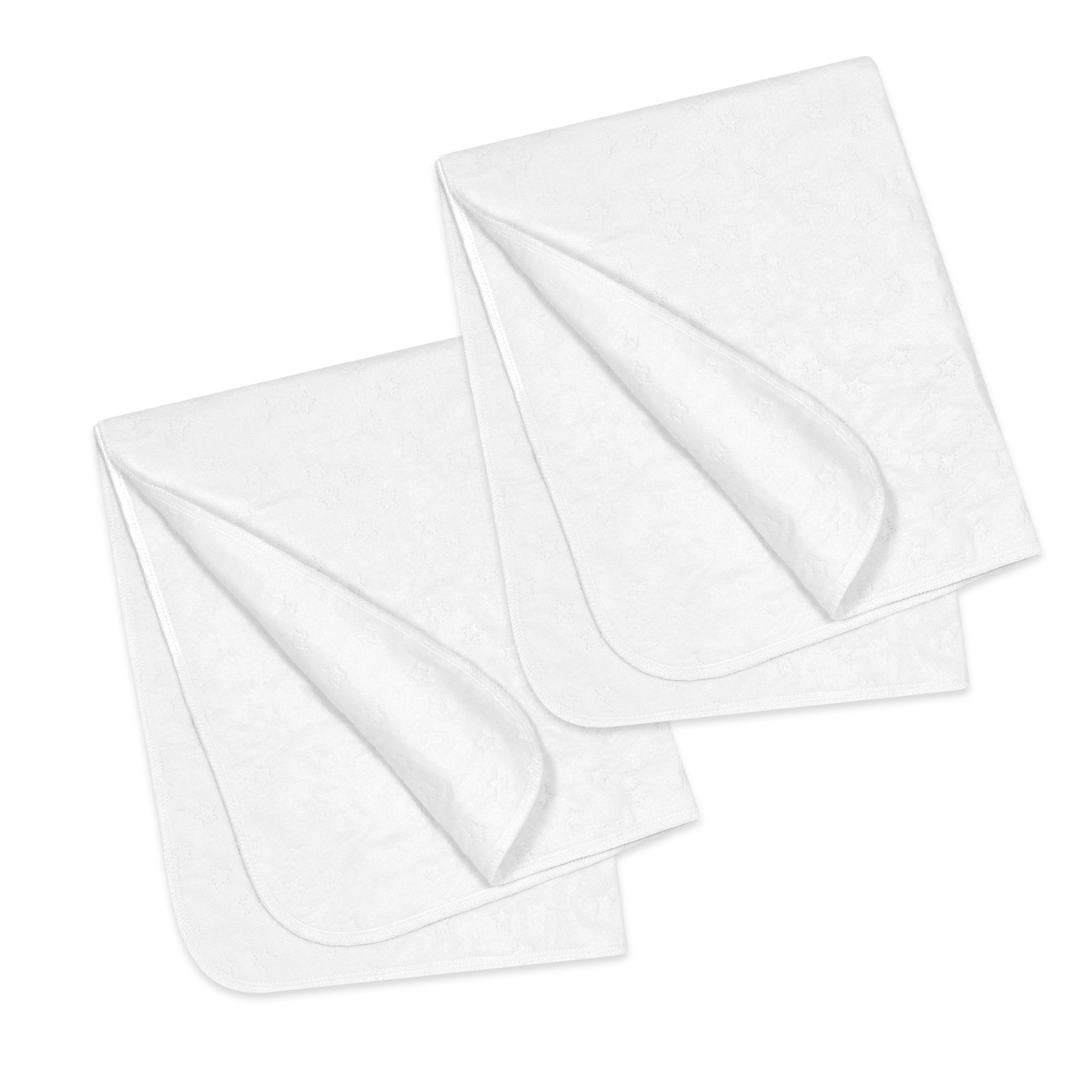 Gerber 2 Piece Water Resistant Protector Pads, White, 18'' x 27''