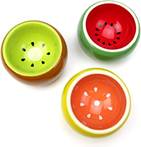 Alfie Pet - Seren Ceramic Food and Water Water Bowl for Mouse, Chinchilla, Rat, Gerbil and Dwarf Hamster