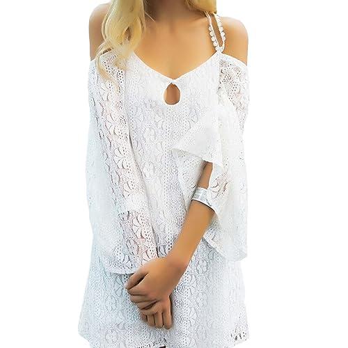 Toocool - Camisas - a túnica - Manga larga - para mujer