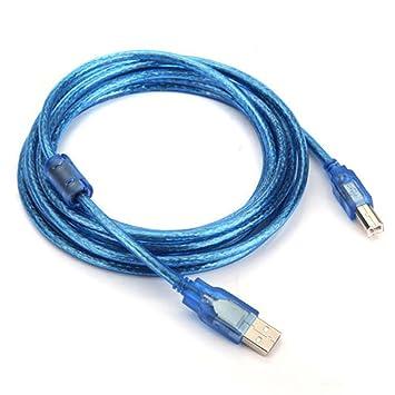 NEW USB Printer Cable Lead Canon Pixma MG2550S MG3051 MG3050 MG3052 MG3053
