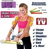2017Wonder braccia ARM upper Body workout Machine come visto in TV, con una rapida Dry Cool asciugamano incluso