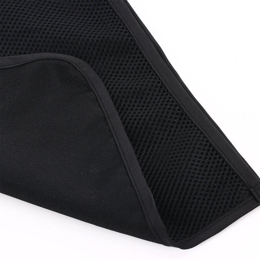 Little Sporter Poussette Sac Cabas Filet universel avec protection et fermeture à crochets Poussette pour bébé mémoire Noir