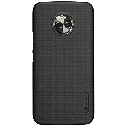 super cute a9f30 cce4c Nillkin Frosted Ultra Thin Shield Hard Plastic Back Cover Case for Motorola  Moto X4 (5.2 inch)- Black
