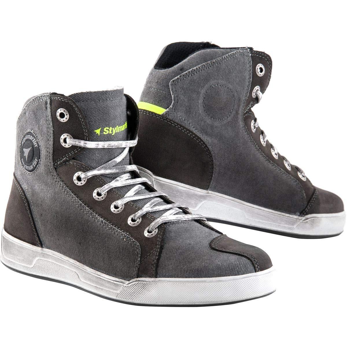 Stylmartin Adult Sunset Evo Urban Line Sneakers Grey Size: US-11.5, EU-45