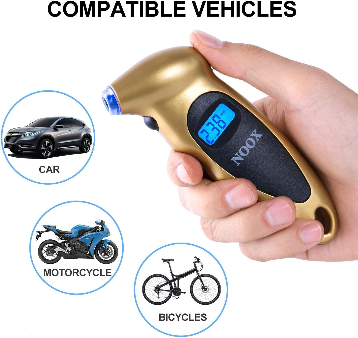 Amazon Promo Code for Digital Tire Pressure Gauge Car Accessories