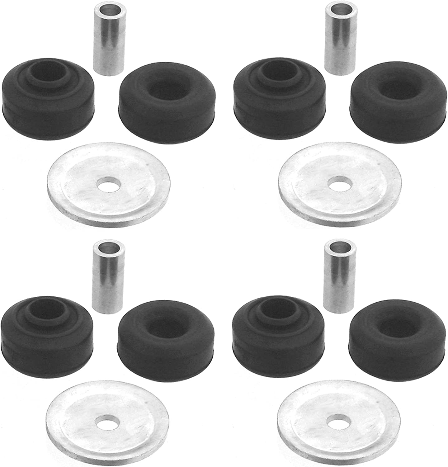 NEW Front and Rear Suspension Strut Mounts Kit KYB For Mazda MX-5 Miata RX-8