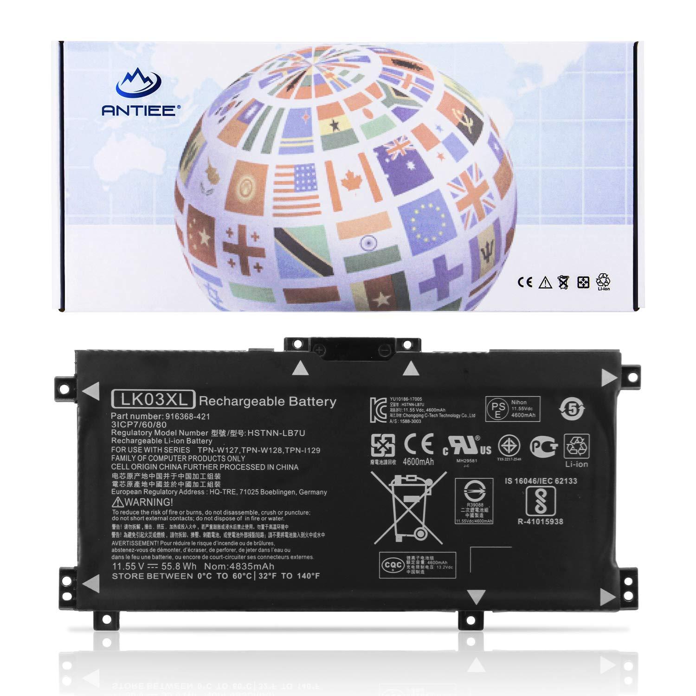 Bateria LK03XL HP Envy 17M AE011DX 17M AE111DX 17 ae143ng En