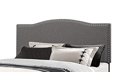 Amazon.com - Upholstered Panel Headboard - Modern Nailhead ...