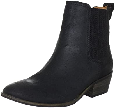 d975cd17384 Pieces BECCA LEATHER BOOT - BLACK Ankle Boots Womens Black Schwarz ...