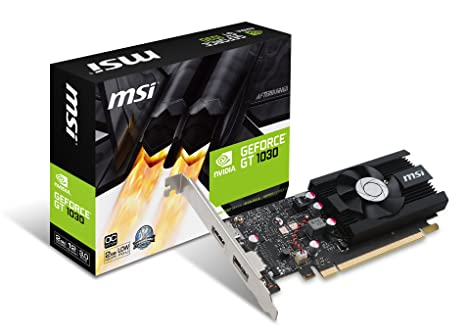MSI GeForce GT 1030 2G LP OC GeForce GT 1030 2GB GDDR5 - Tarjeta ...