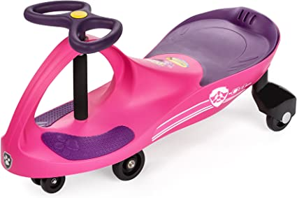 Wiggle for endless fun Turn gears or pedals No batteries Twist The Original PlasmaCar by PlaSmart Ages 3 yrs and Up Ride On Toy Pink//Purple