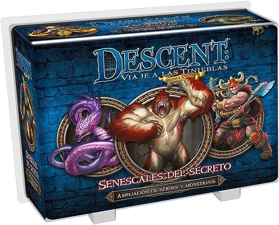 Fantasy Flight Games- Descent: senescales del secreto - español, Color (FFDJ33) , color/modelo surtido: Amazon.es: Juguetes y juegos