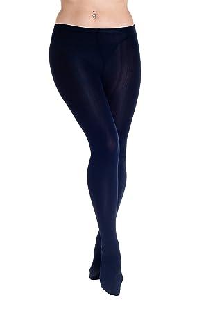HO-Ersoka Femme Collant opaque intérieur polaire thermo chaud bleu foncé  taille unique  Amazon.fr  Vêtements et accessoires 3e3fc7dd0c7c