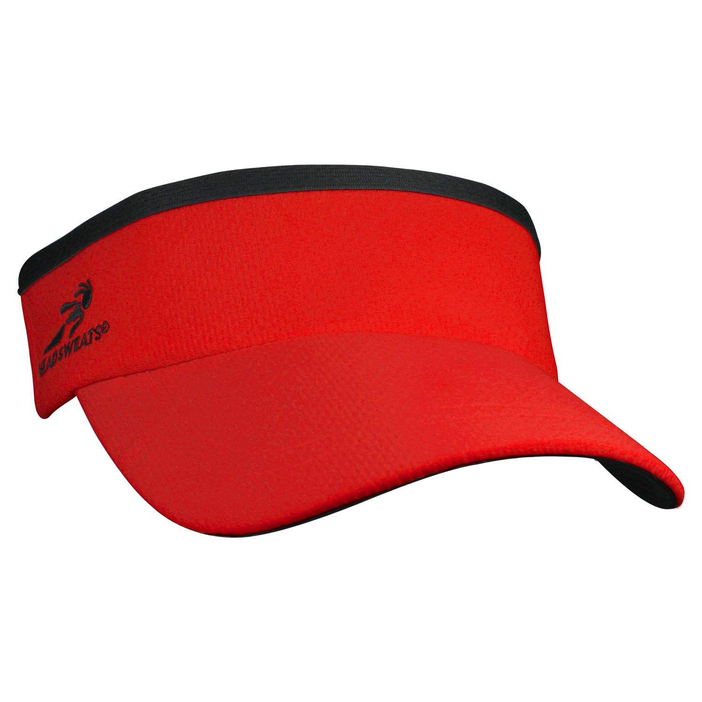 Headsweats Supervisor Sun Visor (Red)