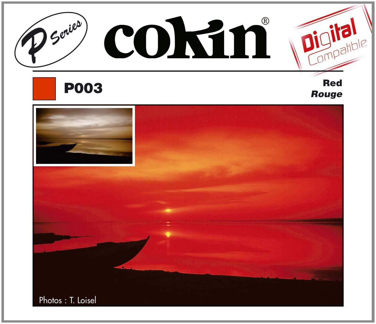 Cokin P003 Filter, P, Red WP1R003