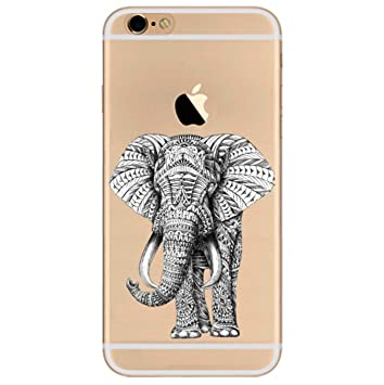 coque iphone 7 dessin elephant