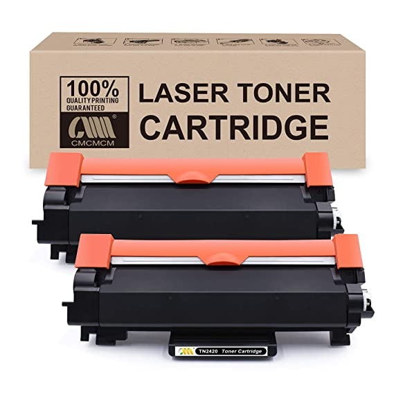 CMCMCMCM 2PK Cartucho de tóner Compatible para Brother TN-2420 TN ...