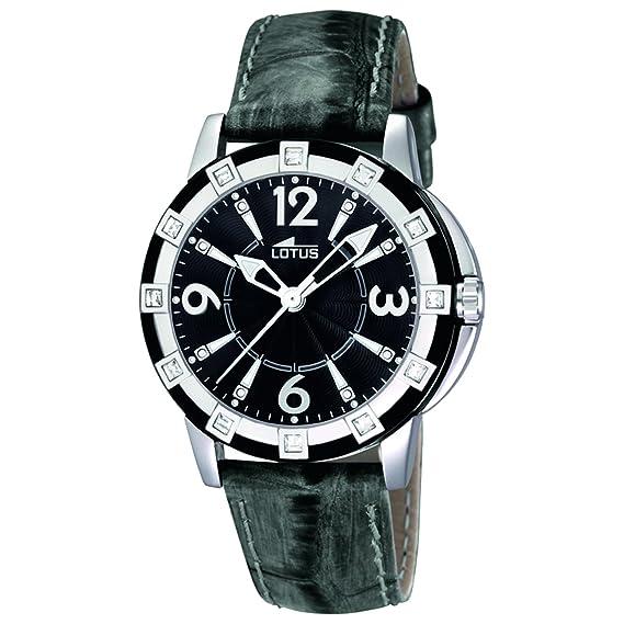 Lotus 15745/4 - Reloj analógico de cuarzo para mujer con correa de piel,