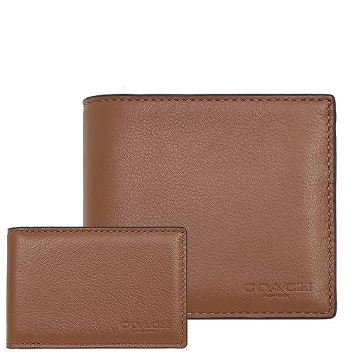 aff9b72f63e4 Amazon   [コーチ] COACH 財布 (二つ折り財布) F74991 ダークサドル CWH ...