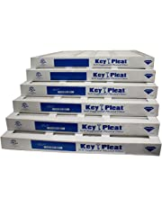 Assigned by Sterling Seal & Supply, (STCC) KP-16x20x1x6.AZ.DSC Furnace Air Filter, 16x20x1 Purolator Key Pleat Extended Surface Pleated Air Filter, Mechanical MERV 8, (Pack of 6)