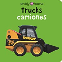 Bilingual Bright Baby Trucks: English-Spanish