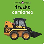 Bilingual Bright Baby Trucks: English-Spanish Bilingual (Spanish Edition)