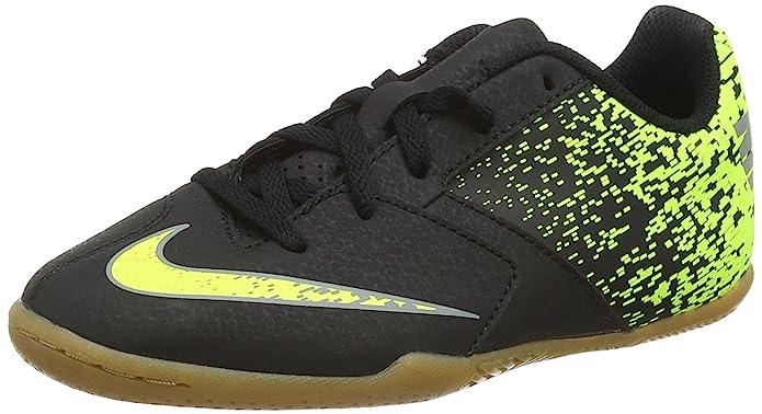 Nike Bombax Ic Scarpe da Calcio Unisex Bambini Multicolore Black/Cool Grey