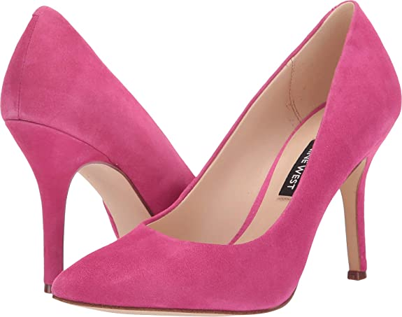 Nine West Women's Flax Pump Bright Fuchsia 9 M US