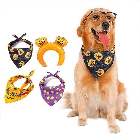 Pumpkin Dog Bandana Over the collar Pumpkins Cat Bandana Fall Pet Bandana Gifts for pets Slip on Bandana Dog Bandana Pet
