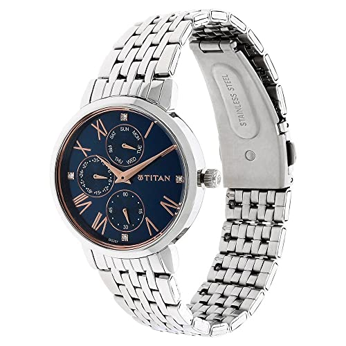 5. Titan Ladies Neo-Ii Analog Blue Dial Women's Watch