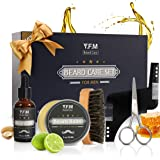 Y.F.M Beard Care Grooming & Trimming Kit for Men Beard Care Gift Set Beard Conditioners Oil, Beard Shaping Comb, Beard…
