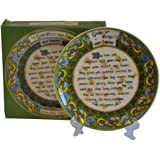 "God Bless Our Home Irish 4"" Decorative Plate"