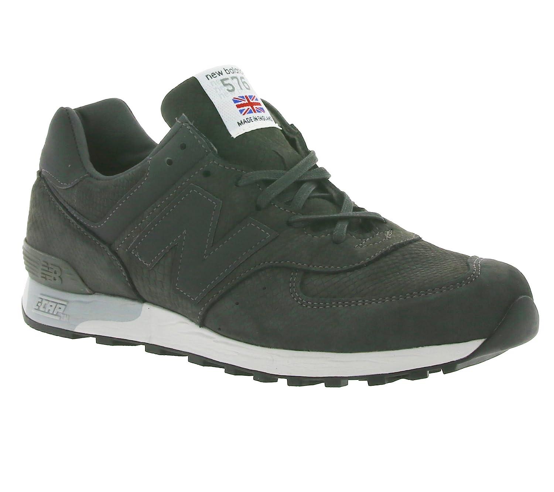 huge discount e6e3c 6bdf4 New Balance 576 Men's Genuine Leather Sneaker Grey M576NRG ...