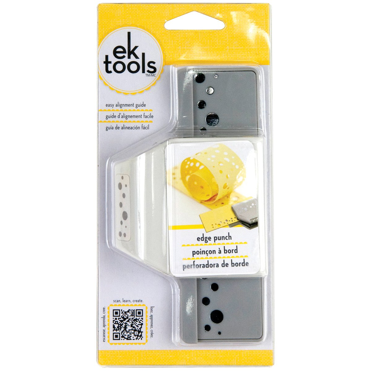 New Package Double Dotted Lace EK Success 54-40150 Tools Edge Paper Punch
