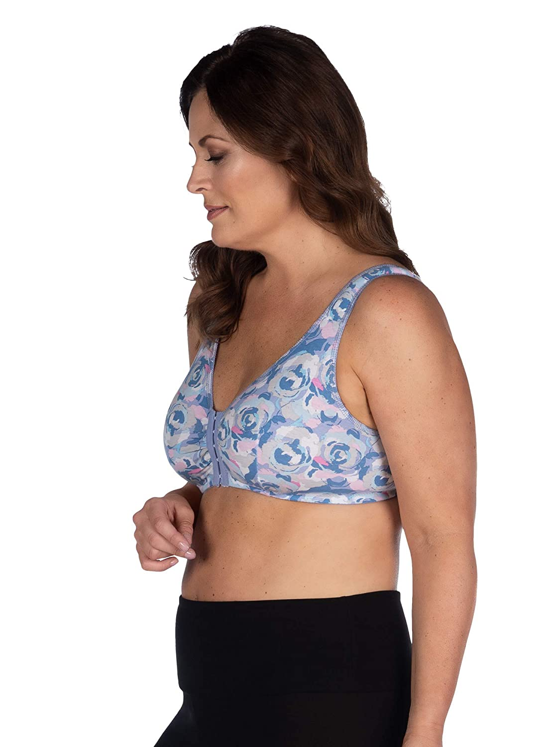 a1f50530502 Leading Lady Women's Plus Size Sleep Leisure Cotton Bra: Amazon.ca:  Clothing & Accessories