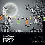 Stringa appiccicosa decorativa per la decorazione domestica della casa di promozione di Halloween per la decorazione interna del festival dell'interno (6 fantasmi)