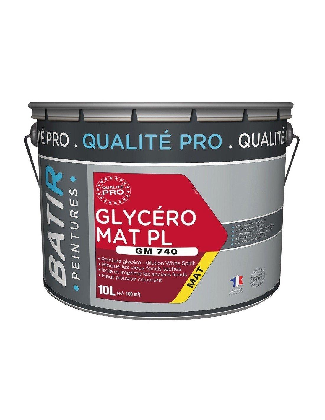 Peinture Glycero Pour Plafond Salle De Bain ~ peinture glyc ro grands blancs pro batir peintures bo te 10 l
