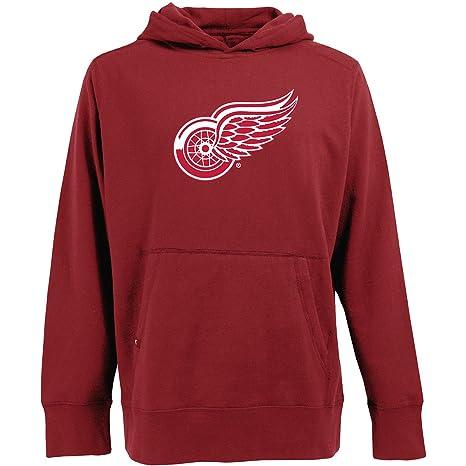 Antigua Detroit Red Wings Signature Hooded Sweatshirt