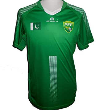 baba0410311 JOSHILA Pakistan Official Men's Home Football Shirt 2018-2019 (Men's ...