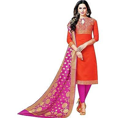 Readymade Salwar Kameez Brocade Silk Indian Salwar Dress Pakistani Suit Bollywood