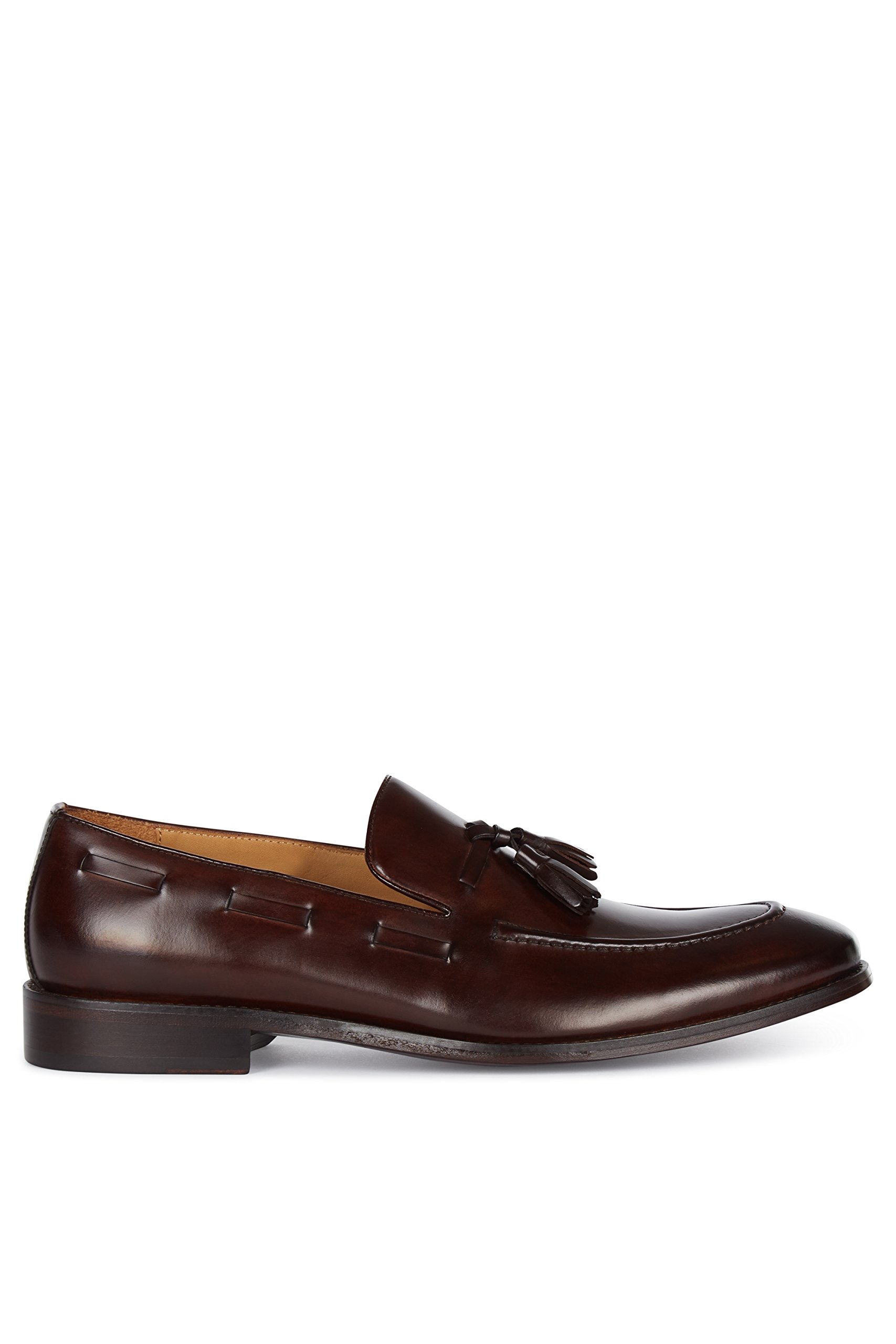 Hardy Amies Men's Brown Tassel Loafers 9.5 by Hardy Amies