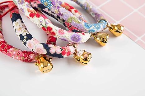 EGG 1439/5000 Collar de Gato Collar de Gato de Viento japonés Gato ...