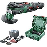 Bosch AdvancedMulti 18 w walizce systemowej + zestaw uniwersalny (bez akumulatora, system 18 V, uniwersalny zestaw…