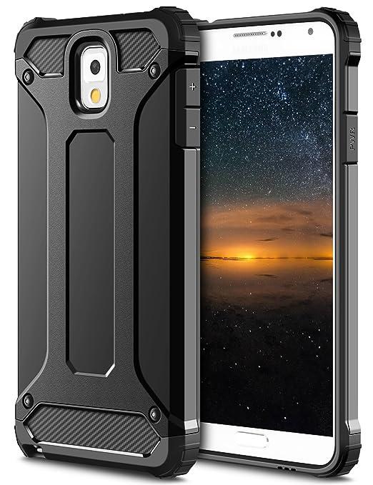 35 opinioni per Samsung Galaxy Note 3 Cover,Coolden® Nero [Protezione Hybrid Dual-Layer]