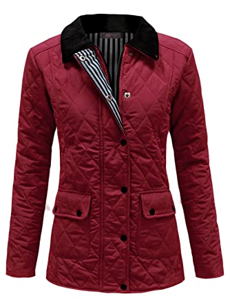 ea6a1fade2f ENVY BOUTIQUE NEW WOMENS LADIES QUILTED PADDED BUTTON ZIP WINTER JACKET COAT  TOP 8 10 12 14 16  Amazon.co.uk  Clothing