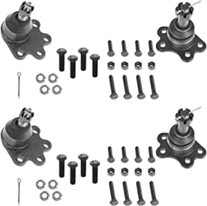 Upper Lower Ball Joint Set Fits 1960 1961 1962 GMC 2WD 1000 1500 1//2 Ton Pickup