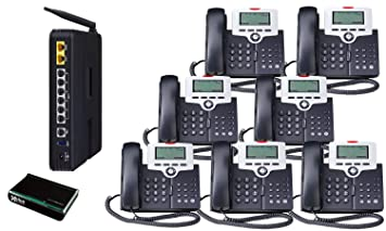 Amazon.com : X 50 VoIP Small Business System (7) Phone System Bundle : Pbx  Telephones And Systems : Electronics