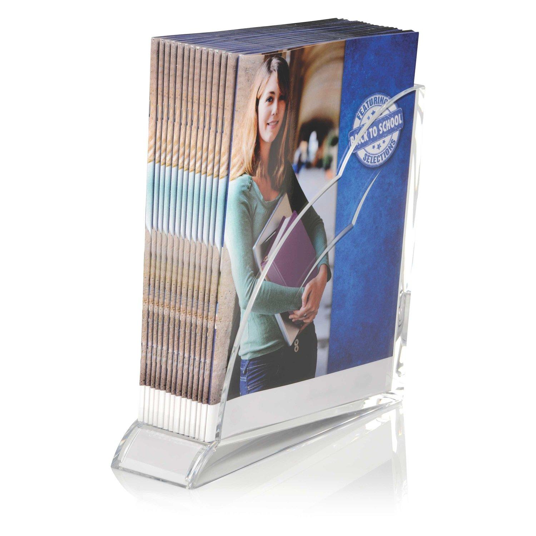 Swingline Stratus Acrylic Magazine Rack Clear 10.5 x 10.25 x 3.5 S7010133