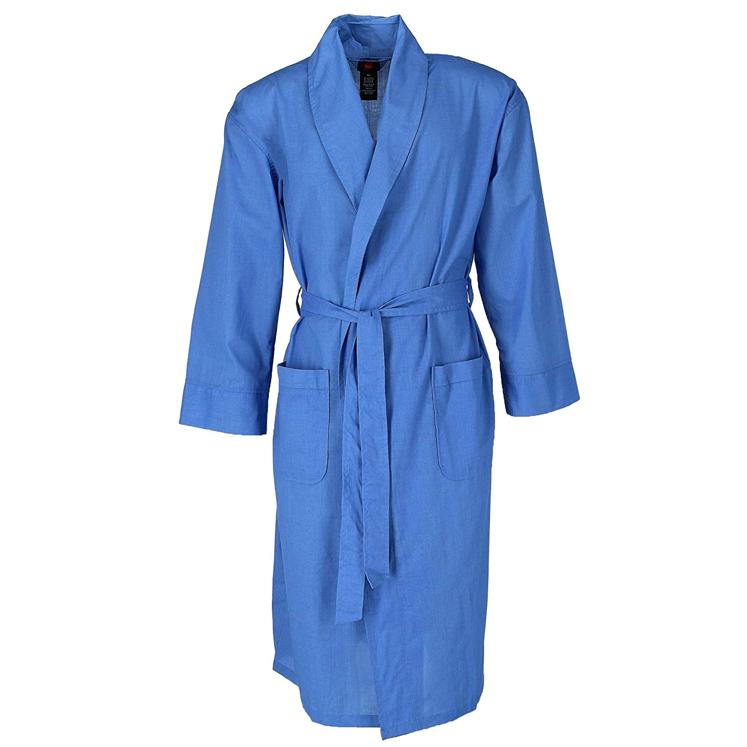 Hanes Men's Big and Tall Lightweight Woven Dressing Gown